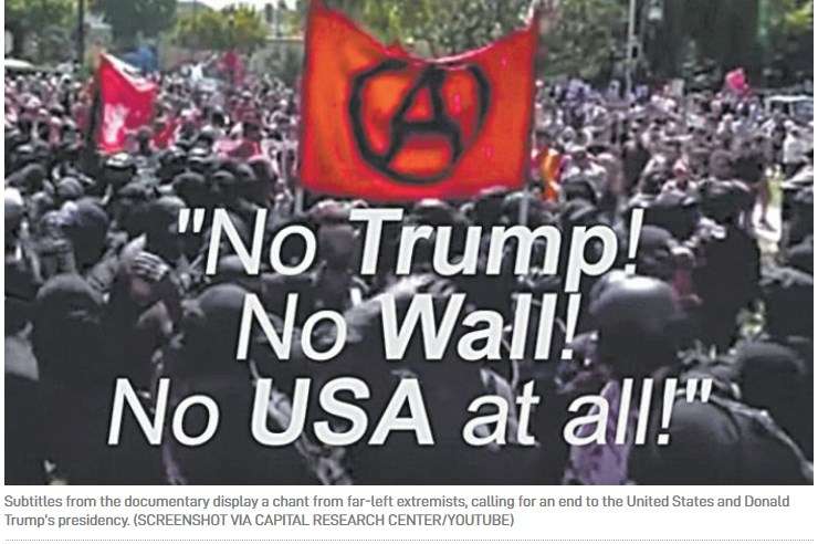 Screenshot 2no trump no wall no usa