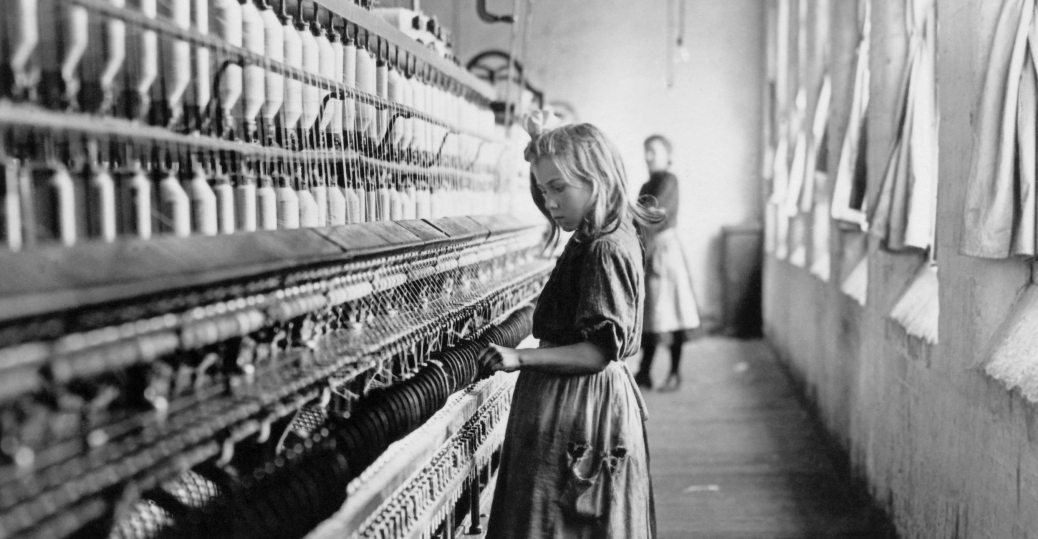 Cotton Mill Child Worker