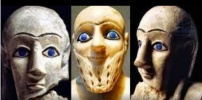Ancient Middle Eastern Faces